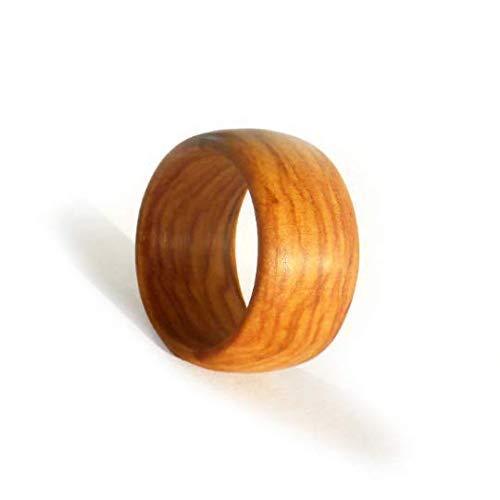 Holz Ring Aus Wilder Olive Nach Maß Amazonde Handmade