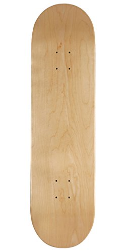 CCS Blank Skateboard Deck Natural Wood 8.0""