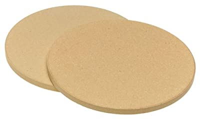 Old Stone Oven 'Pizza for Two' Round Stones, 8.5-Inch, 2-Pack