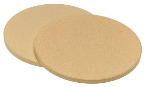 Old Stone Oven 'Pizza for Two' Round Stones, 8.5-Inch, 2-Pack by Honey-Can-Do