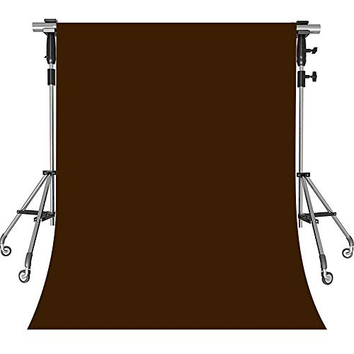 (MEETS 5x7ft Non-woven Fabric Backdrop Brown Photography Background Studio Props Photo Booth YouTube Backdrop KFWMT001)