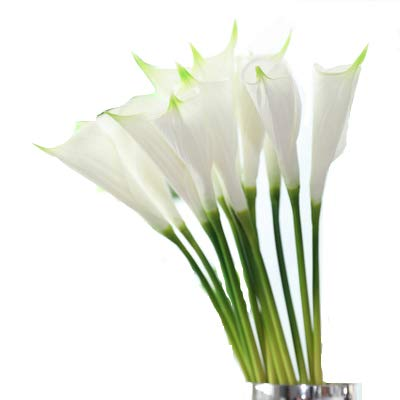 White Artificial Calla Lilies - Meide Group USA 25