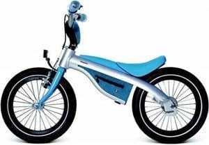 BMW – Bicicleta infantil PushBike & Bicicleta, todo en uno. Azul ...