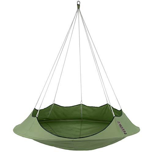 Vivere CACLSG2 Cacoon Lullio-Single Leaf Green