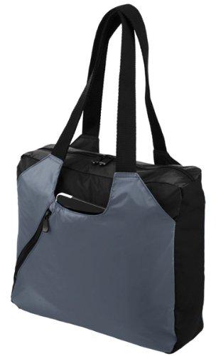 - Augusta Sportswear Dauntless Zipper Tote Bag, Graphite/Black, One Size