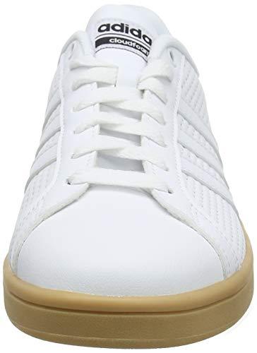 White Uomo Scarpe adidas CF Ftwr White da Bianco Ftwr Ginnastica Advantage Core Black vvXfF