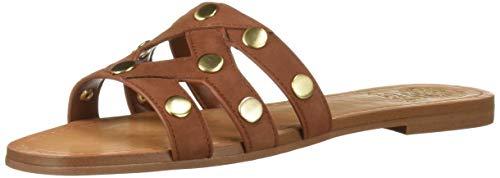 Vince Camuto Women's Vazista Slide Sandal nut Mix 11 Medium US