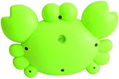 crabe vert Thermom/ètre flottant num/érique pour b/éb/é et salle de bain avec s/écurit/é et jouets pour tout-petits dans le bain 4pcs pour filles et gar/çons