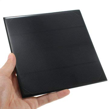 6V 4.5W 520mAh Monocrystalline Mini Epoxy Solar Panel Photovoltaic Panel