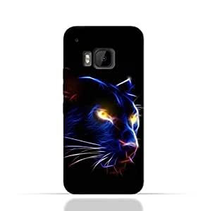 HTC M9 TPU Silicone Case with Panther Eye