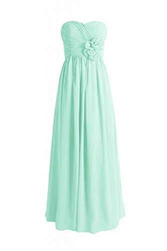 Long BM224 Chiffon DaisyFormals 34 Sweetheart Dress Gown Party mint Evening Tw00Udq