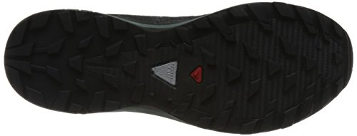 Hombre noir noir XA Salomon Zapatillas Trail vert Running foncà para Elevate de O0g4wqg8C