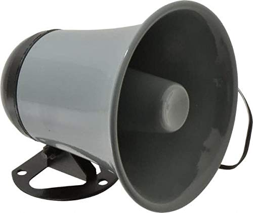 Speco - 15 Max Watt, 5 Inch Diameter, Round Plastic Standard Horn and Speaker (2 Pack)