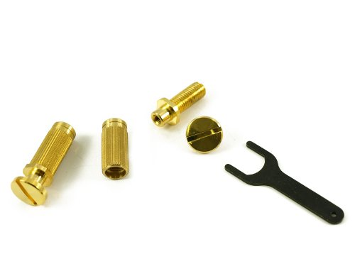 LOCKING STUDS FOR PRS (TAILPIECE NOT INCLUDED) GOLD (Locking Bridge Studs)