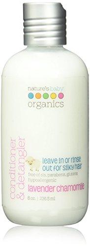 Lavender Chamomile Organic Liquid - Nature'S Baby Organics Conditioner and Detangler, Lavender Chamomile, 8.8 Ounce