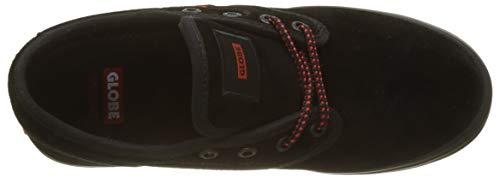 red Uomo Motley Scarpe Globe 000 Multicolore Fitness Suede Da black BFB8wUqx1