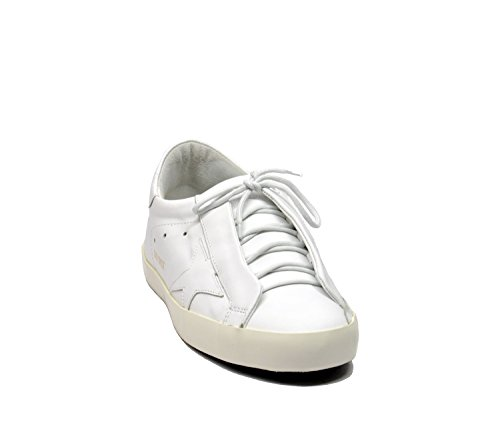 Golden Goose Sneakers Uomo G30MS590B12 Pelle Bianco