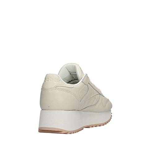 bare Scarpe Da chalk Cl Reebok Lthr double 000 Donna Multicolore Fitness Double Beige Tv1ZgqnwZW