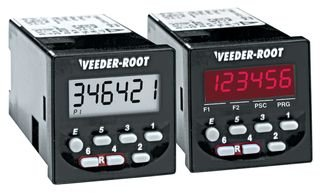 VEEDER ROOT C346-0411 MULTIFUNCTION COUNTER, 6DIGIT, 115VAC
