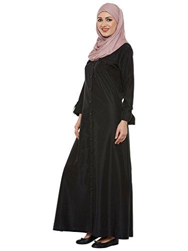 Momin Libas Black Crepe Abaya & Burkha