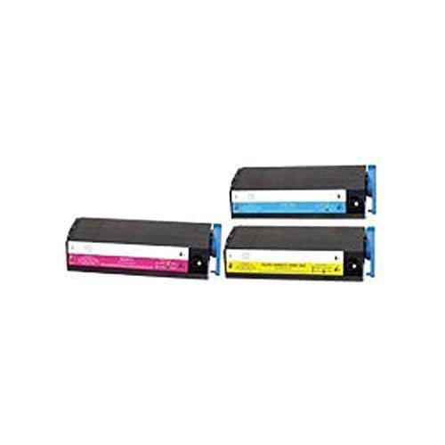 Printers Series C7500 (Compatible Okidata Toner for OkiColor C7100, C7300, C7500 Series - 41963003 41963002 41963001 (Cyan Magenta Yellow) 10K - 3 Pack)