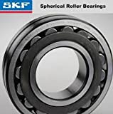 SKF 22319 EJA/VA405 Spherical Radial Bearing, Straight Bore, Steel Cage, Normal Clearance, 95mm Bore, 200mm OD, 67mm Width