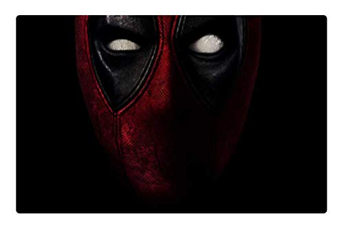 Tree26 Indoor Floor Rug/Mat (23.6 x 15.7 Inch) - Marvel Deadpool Wallpaper Action Movie ()