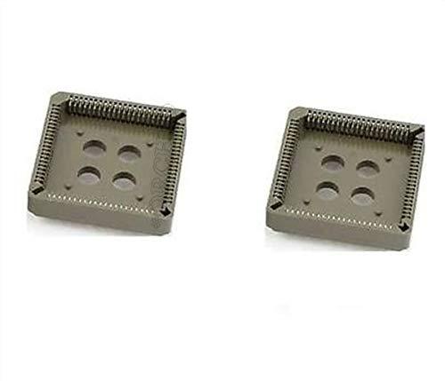 FidgetKute 3Pcs Plcc Socket Dip 84 DIP-84 Pin - Pin 84 Socket Plcc