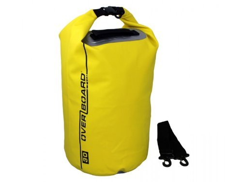 Overboard Waterproof Dry Tube Bag, 30 Litres, Yellow by Overboard
