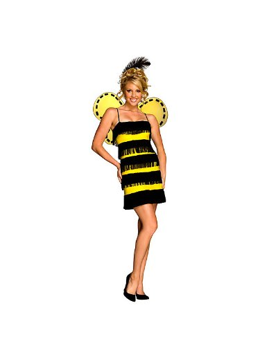 Sexy Bumble Bee Costume - Bee Mine Bumble Bee Sexy Costume - Womens X-Small