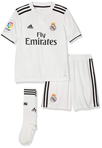 adidas 2018-2019 Real Madrid Home Full Kit (Kids) - Madrid Home Kit