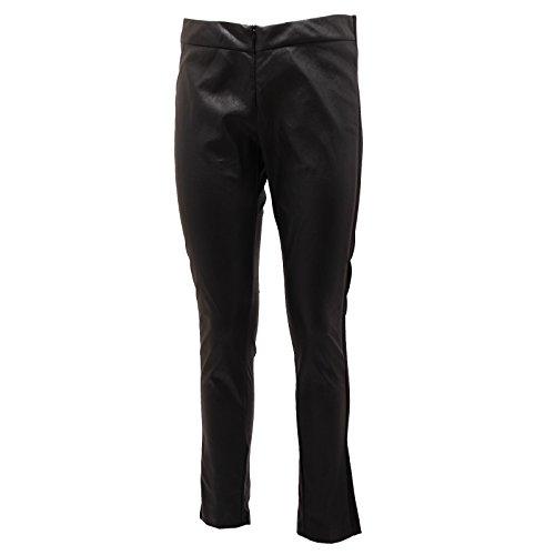 Annarita Nero 0248q Pantalone Trouser Donna Skinny N Woman Ecopelle pwpxTr1q