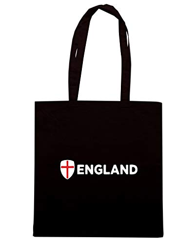 TR0043 ENGLAND Nera Speed Shirt Borsa Shopper xqfIg64