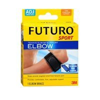 Futuro Futuro Sport Tennis Elbow Support Adjust To Fit, each (Pack of 2) by Futuro