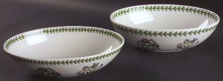Portmeirion Botanic Garden Oval Nesting Bowl (Set of 2, 1 Ea 10