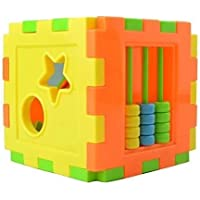 St. Lun Multi Shape Sorter Intelligence Box Cognitive Matching Building Blocks Activity Cube Educational Toys For…