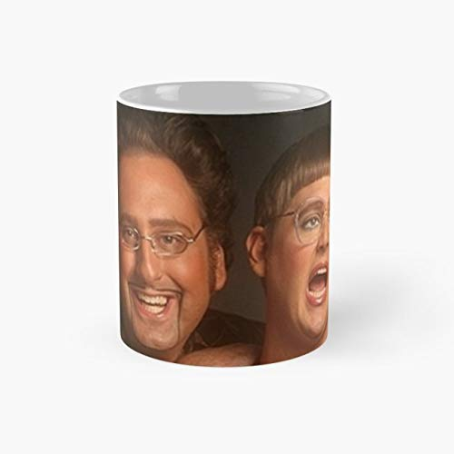 tim and eric news Mug, tim and eric Funny Mugs, 11 Ounce Ceramic Mug, Perfect Novelty Gift Mug, Tea Cups, Funny Coffee Mug 11oz, Tea -