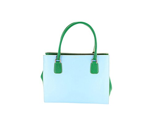 Price comparison product image Dolce & Gabbana Womens Satchel - Blue Leather