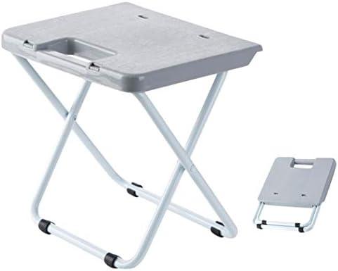 ZDK Tabouret de Camp léger Pliant Tabouret de Train Portable Adulte Petite Chaise en Plastique Maison