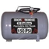 Iron Horse IHCT-05 5-Gallon 150 PSI Max Portable Air Tank