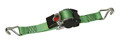 ratchet strap ratchet straps 1.85 m automatic ratchet strapping automatic tensioning belt self-winding lashing strap with automatic retractor iapyx/® EN 12195-2 2-pieces tensioning belt 600 kg Pair S