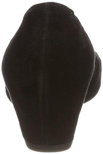 85 Gabor Suede Womens 17 360 Shoes Black RR56rwTq4