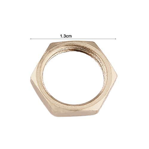 Plateado Cerradura tubular de la gaveta del caj/ón para el hogar Art/ículos importantes Cilindro Puerta Buz/ón Herramienta del gabinete con 2 teclas MS102