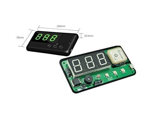 DishyKooker Universal HUD C60 Car GPS Speedometer Head Up Display Windshield Digital Speed Projector Overspeed Alarm for All Cars Trucks Show - Car C60