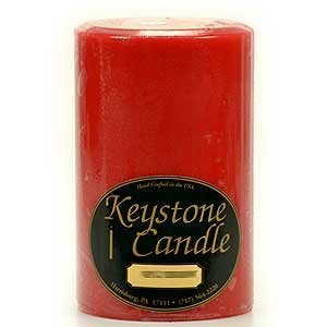 Apple Cinnamon Votive Candle Tin - 4 x 6 Apple Cinnamon Pillar Candles