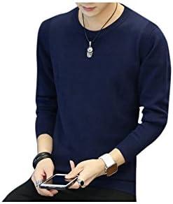 シンプル 定番 重ね着 薄手 カラバリ キレイめスタイル ニット セーター L メンズ