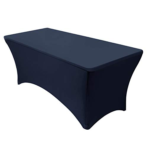 VEEYOO Spandex Table Cover 4/6/8 Feet Stretch