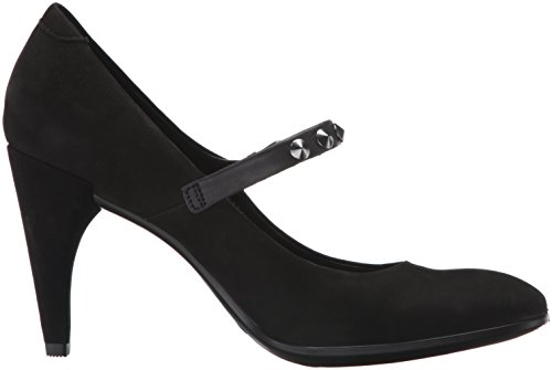 Ecco Womens Forma 75 Elegante Mary Jane Dress Pump Nero Nabuk