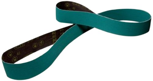 120 Grit Green 4 Width x 132 Length Pack of 25 3M Cloth Belt 577F Wet//Dry Alumina Zirconia