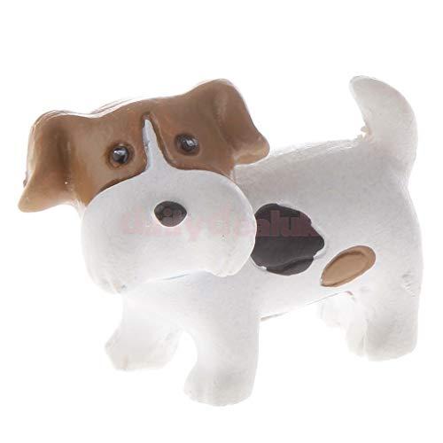 Miniature Scottish Terrier Figurines Various Cute Dog Fairy Garden Landscape Crafts Plant Pot